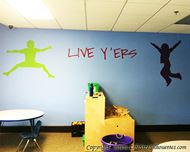 Picture of Girl Jumping 21 (Children Silhouette Decals)